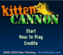 Kitten Cannon!