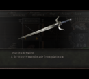Platinum Sword