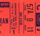 1984 - 19 March: New York, NY (USA)