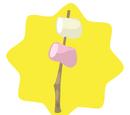 Campfire Marshmellow Decor