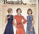Butterick 3576 A