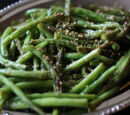 Japanese Style Green Beans by Elle Bee