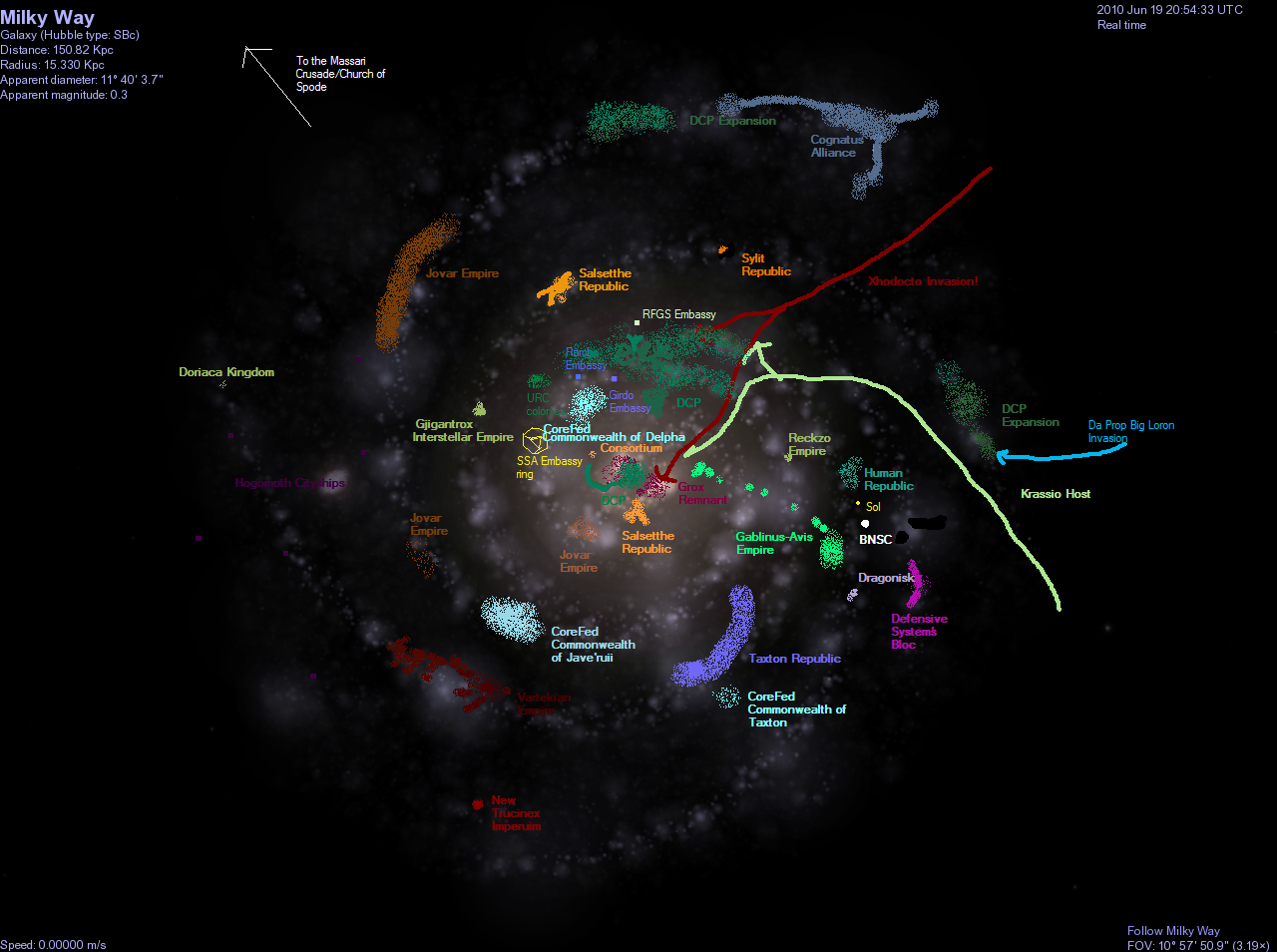 detailed milky way galaxy map - photo #29