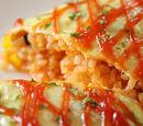 Omurice (Japanese omelet) by Elle Bee