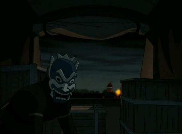 Синяя маска — Аватар Вики