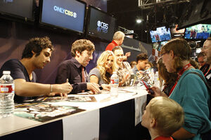 TBBT Autograph Signing