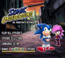 Sonic Underground DVDs