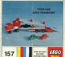 157 Four Car Auto Transport