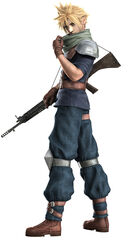 Crisis core Final Fantasy VII Cloud