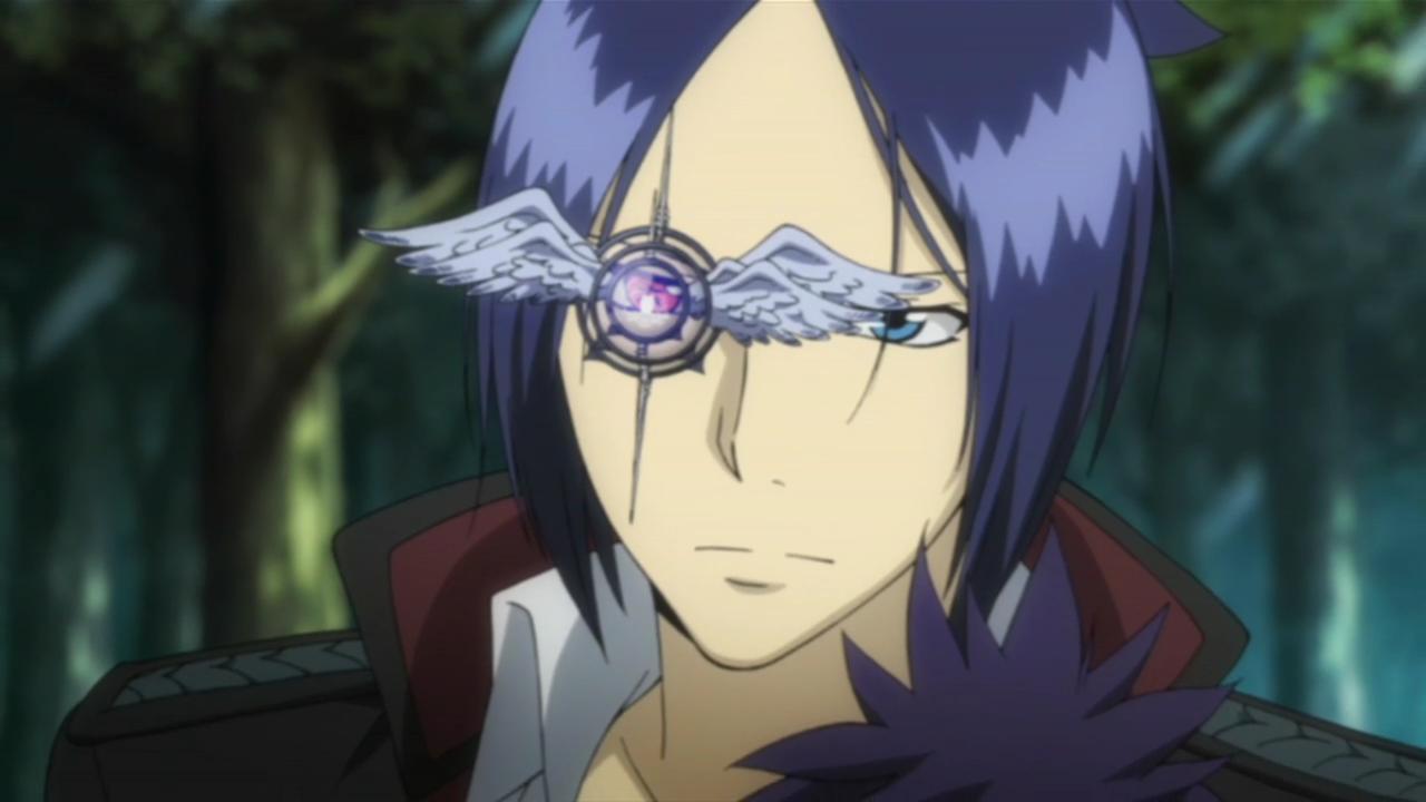 Mukuro using Daemon Spade's Devil Lens