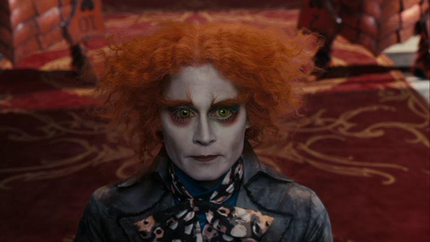 In the beginning, it is always dark.  Alice-in-Wonderland-Screencaps-mad-hatter-johnny-depp-14576426-853-480