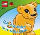 Toddler's Colouring Book (Lion)