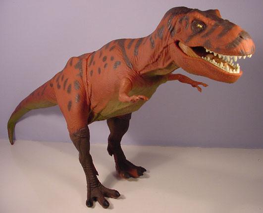 Tyrannosaurus Rex Toys : Jurassic park series pedia