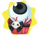 Halloween Eyeball Cupcake