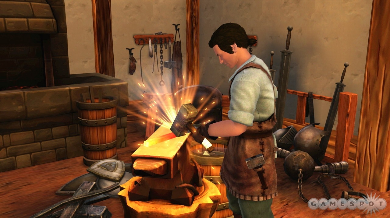 Blacksmith - The Sims Medieval Wiki, a wiki about The Sims ...