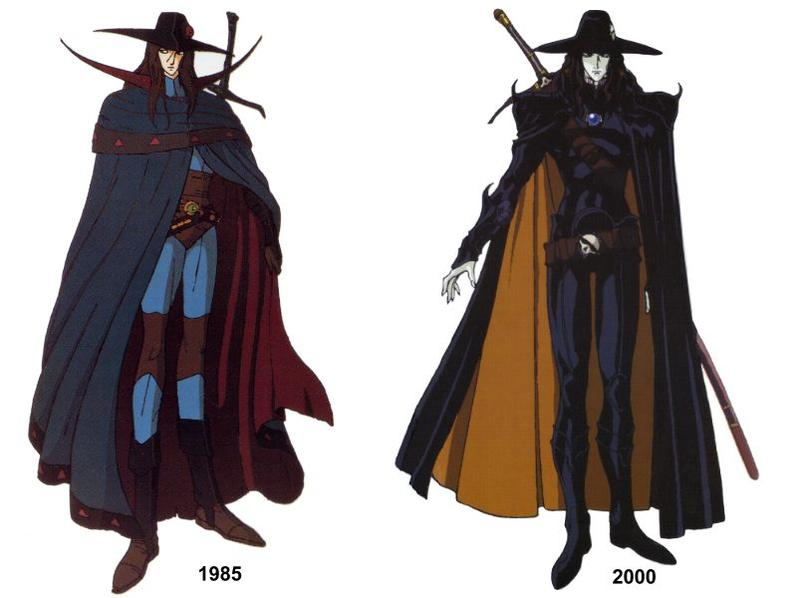 Vampire Hunter D Anime Characters : D a