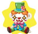 Cute Clown Teddy
