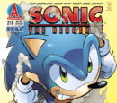 Archie Sonic the Hedgehog Issue 218
