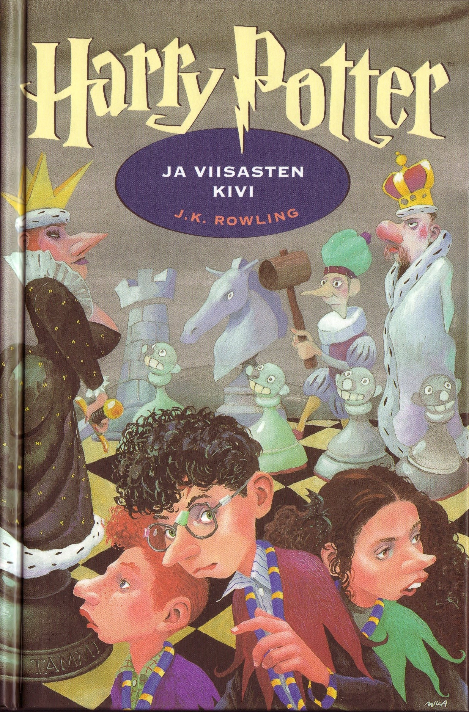 Harry Potter Book Wiki : Image finnish book cover g harry potter wiki