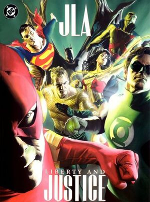 Cover for JLA: Liberty and Justice #1 (2003)