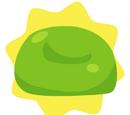 'Pea Green' Bean Bag