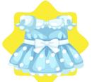 Sweet Blue Polka Dot Dress