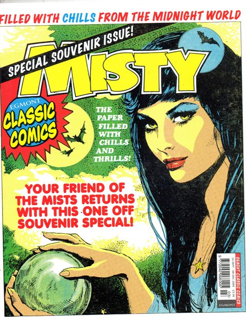 Horror comic book hosts? Misty