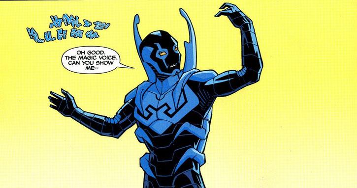 blue beetle appreciation