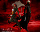 Dante & Lucia wallpaper - Devil May Cry 2.jpg
