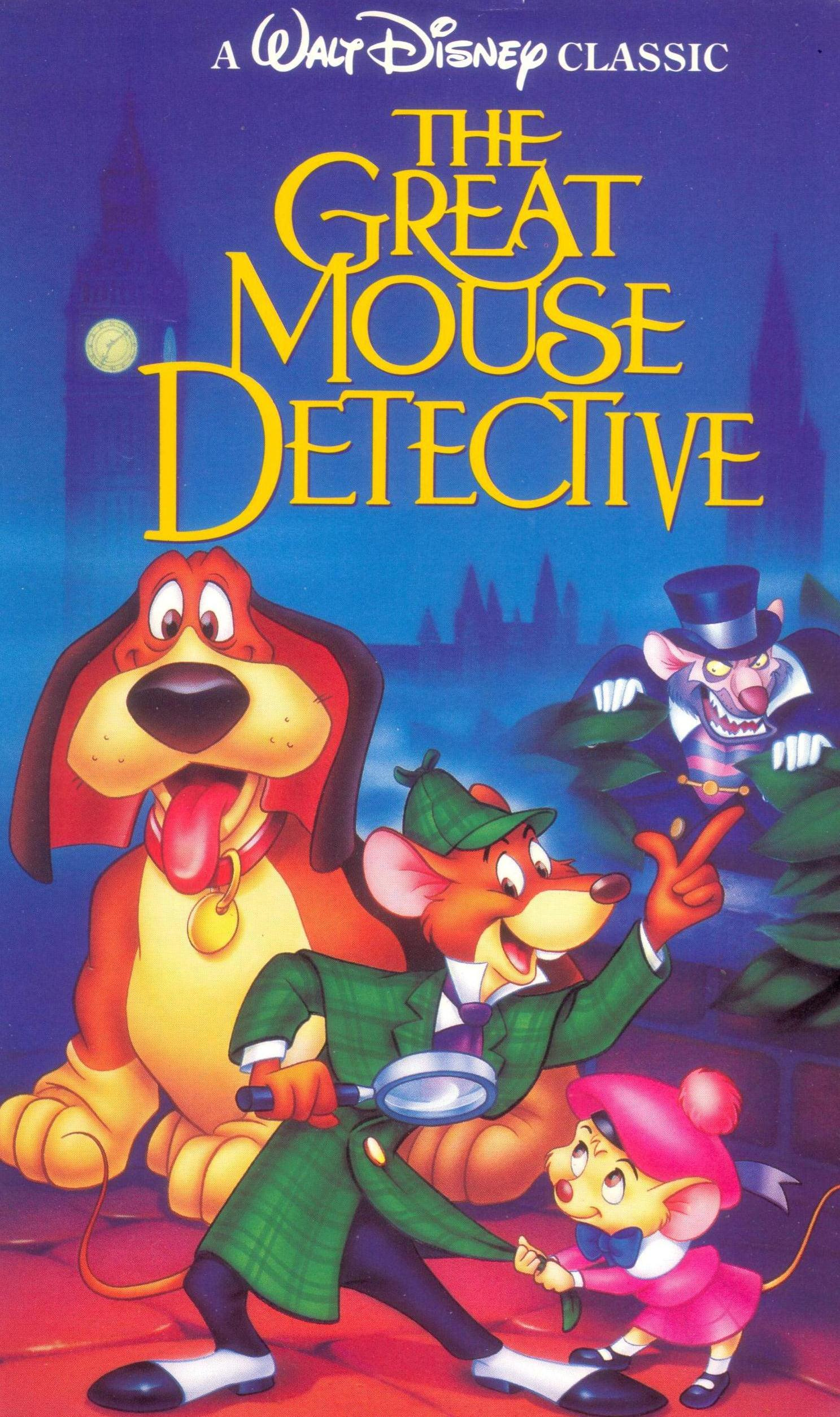 the great mouse detective video disney wiki wikia
