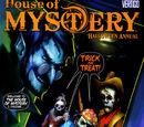House of Mystery Halloween Annual 2
