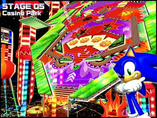 sonic heroes casino park backwards