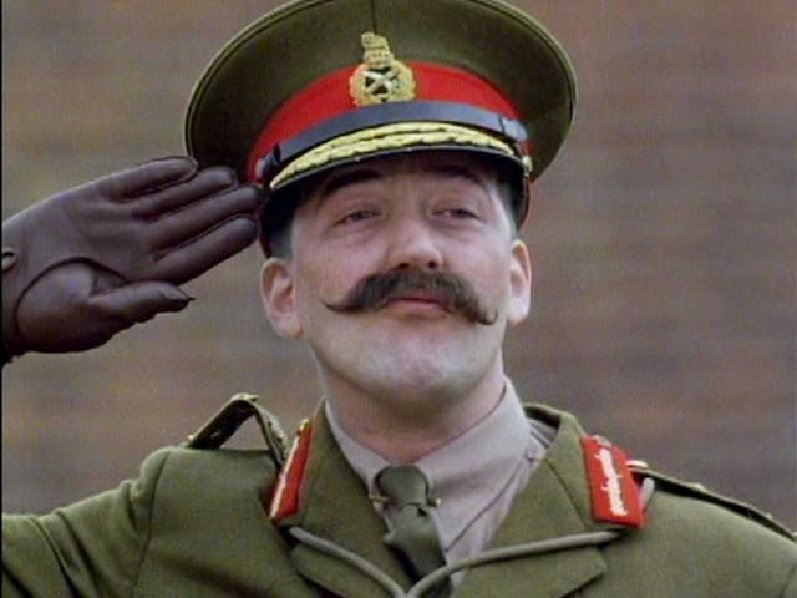 Examples List on new topic blackadder goes forth final episode