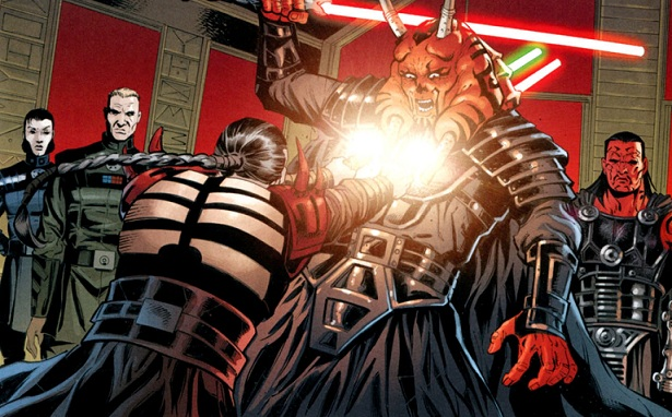 Darth Krayt vs Darth Wyyrlok Darth Krayt Kills Darth