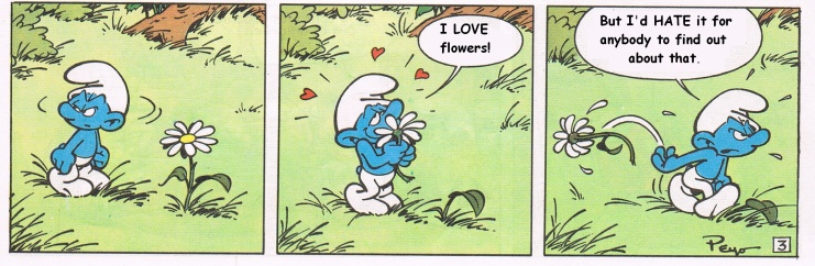 grouchy smurf likes and dislikes in a relationship