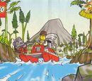 4133394 Adventurers Mini Comic Book 2