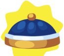 Chinese Festive Blue Hat