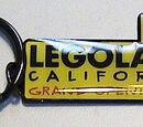 LEGOLAND California Opening Key Chain