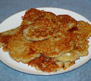 Potato Pancakes filled with Sauerkraut