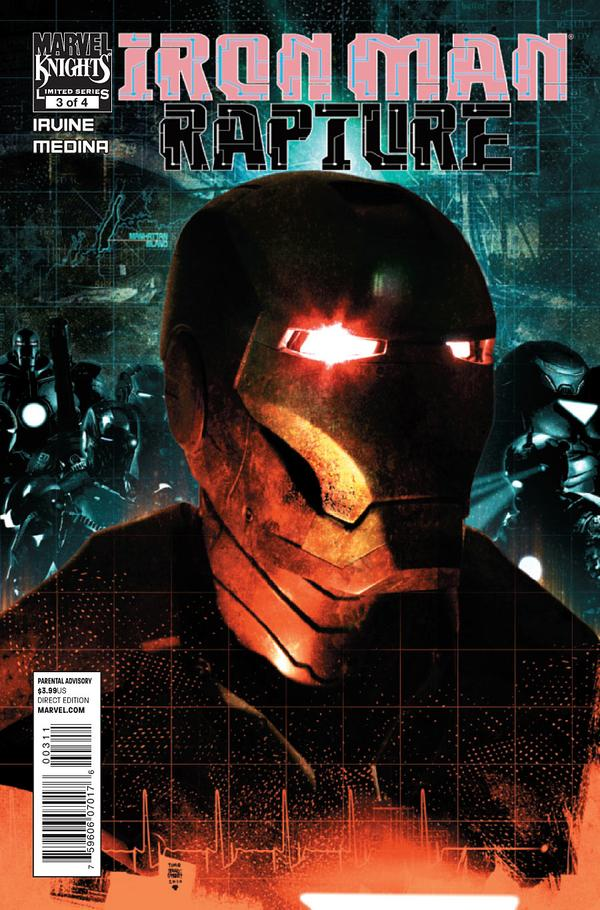 Iron Man Rapture Iron Man The Rapture Vol 1 3