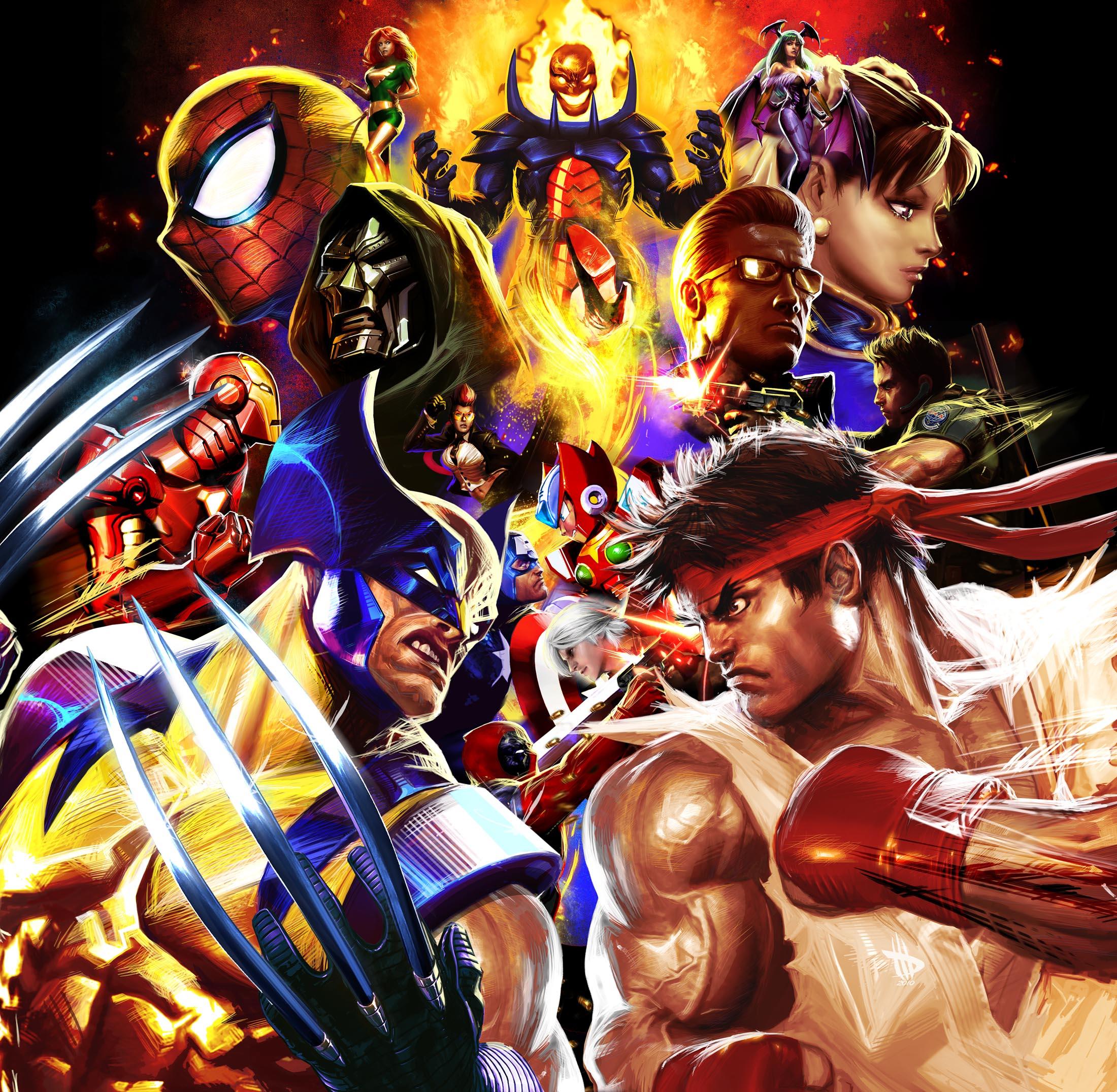 Capcom explica ausencia de personajes en Marvel Vs Capcom 3