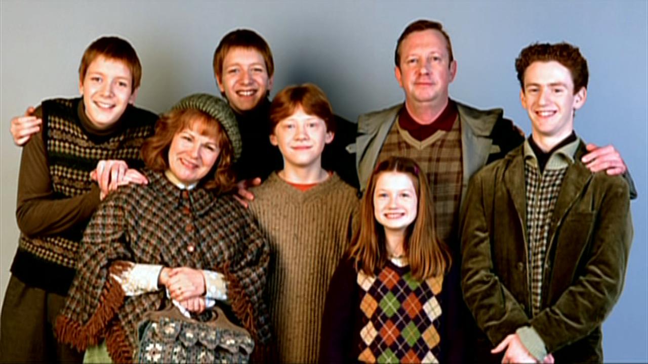 Weasley Family Studio 01