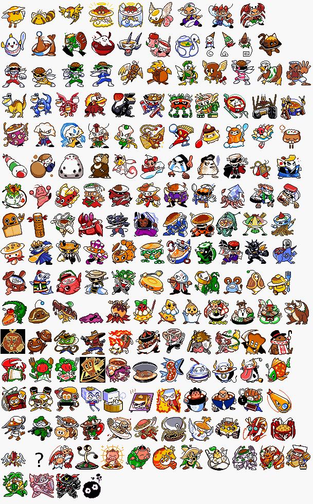 Gba Amp Gb Fakemon Mega Evolution Sprites The