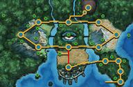Ruta 4 (Teselia) mapa