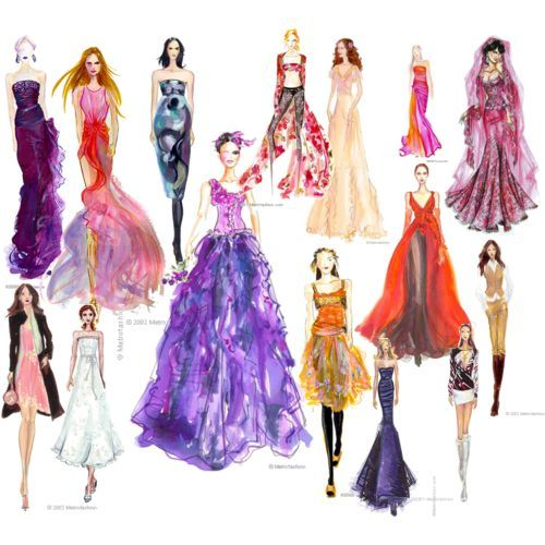 How To Fashion Design Sketch Full resolution