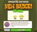Apprentice Harvester Badge Complete.png