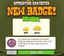 Apprentice Harvester Badge