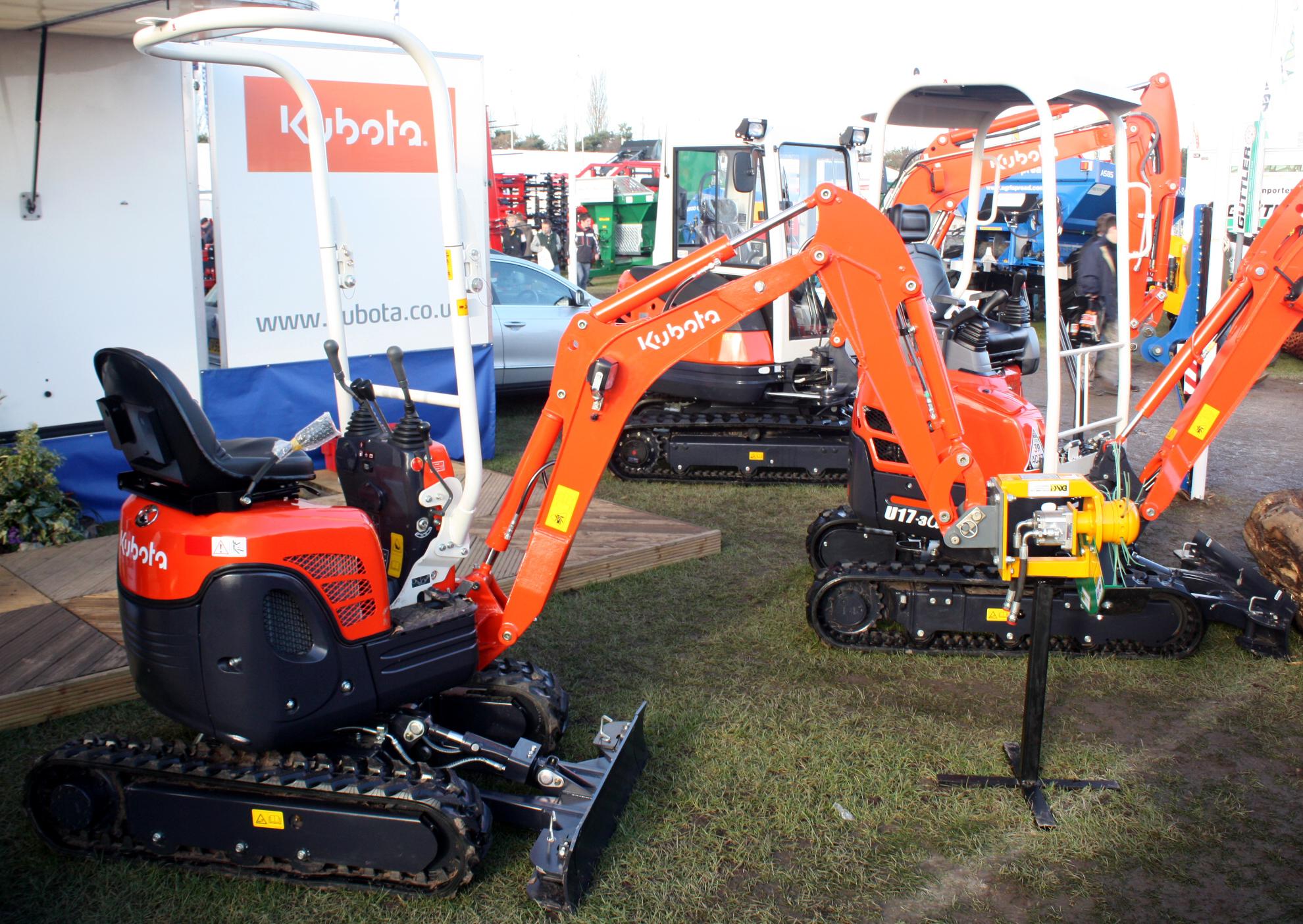 Mini Excavator Tractor Amp Construction Plant Wiki The