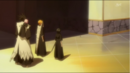 Ichigo, Kenpachi and Rukia watch the procession leave.png
