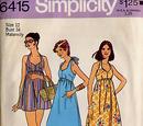 Simplicity 6415